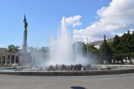 BEST WESTERN PREMIER Kaiserhof Wien: Fountain in Vienna