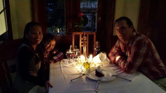 St. Orres: St Orres Fam pic bday dinner