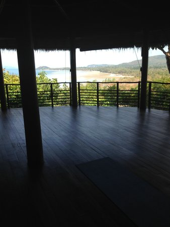 Kamalaya Koh Samui : Yoga place