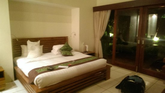 The Chandi Boutique Resort & Spa: The comfortable bed