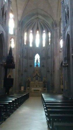 Iglesia de las Carmelitas: No interior