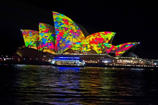 Vivid Sydney : Yellow Opera