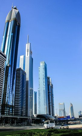 hotel with the nearby buildings picture of rose rayhaan by rotana rh tripadvisor com