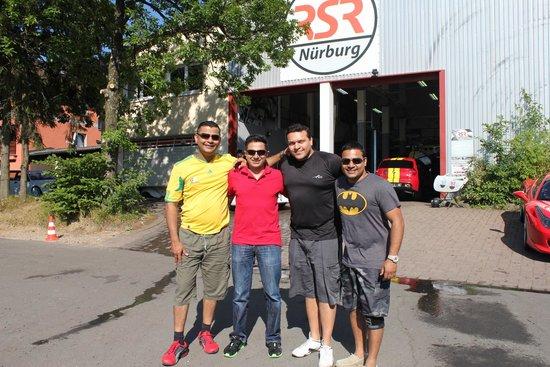 RSRNurburg: The Boys at RSR Nurburgring