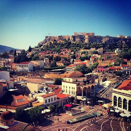 A for Athens: вид с крыши отеля