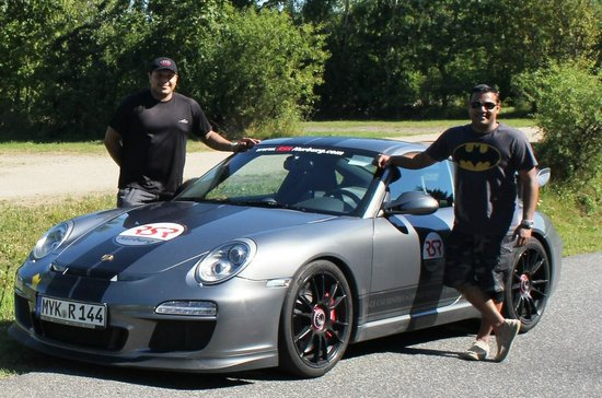 RSRNurburg : Ash & Ams with our Porsche GT3