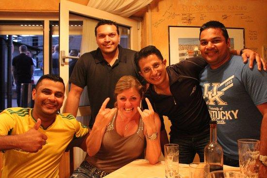 RSRNurburg: Sabine with the Boys