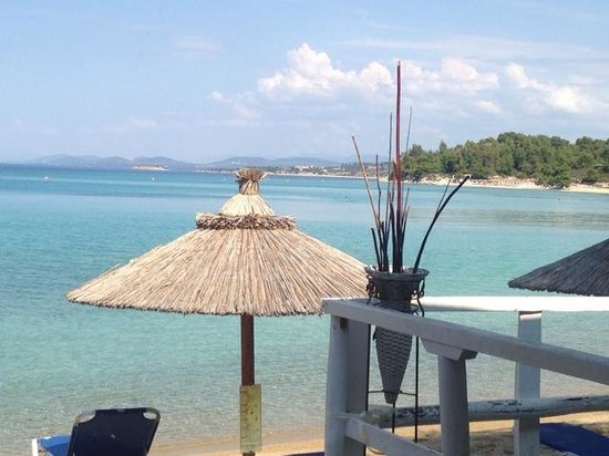 Sithonia, Grekland: View from Restaurant