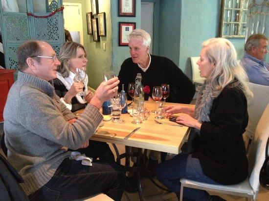The Foodbarn Restaurant: Our Table!