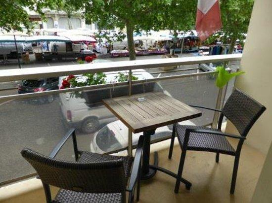 Hotel de France: Balcony to room.