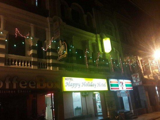 Happy Holiday Hotel : The Entrance