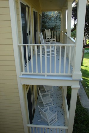 Wild Dunes Resort: Our house's Balcony