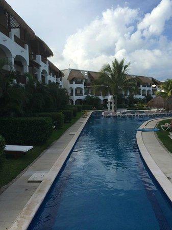 Valentin Imperial Riviera Maya: secondary swimming pool