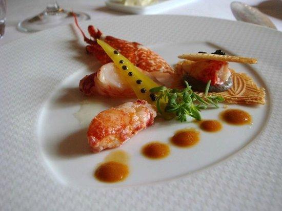 L'Ermitage des Ravet Restaurant: menu passionata