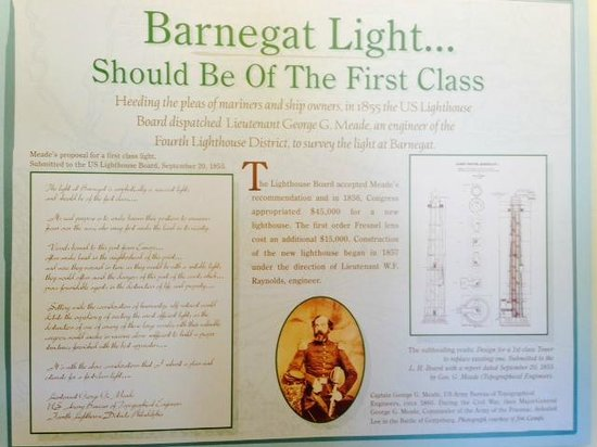 Barnegat Lighthouse State Park: The Museum is quite informative. Docents very nice.