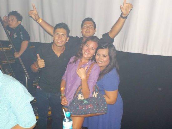 Occidental Costa Cancun: Hotel Entertainers- Ivan, Erick & Kenia