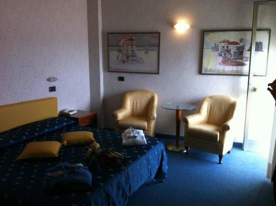 Hotel Ermitage: accoglienza appena arrivati,prima impressione;)
