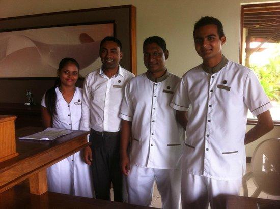 Tamassa: Friendly staff - winning hearts and minds