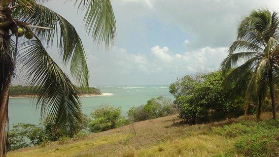 Praia Tibau do Sul: vista da lagoa de Guarairas