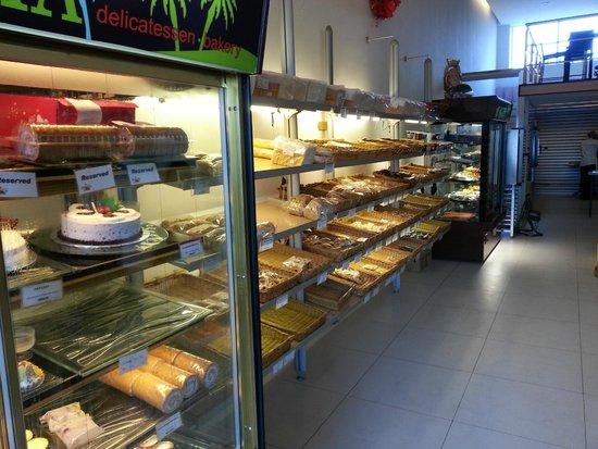 Aloha delicatessen.bakery: wide spread of delicaies