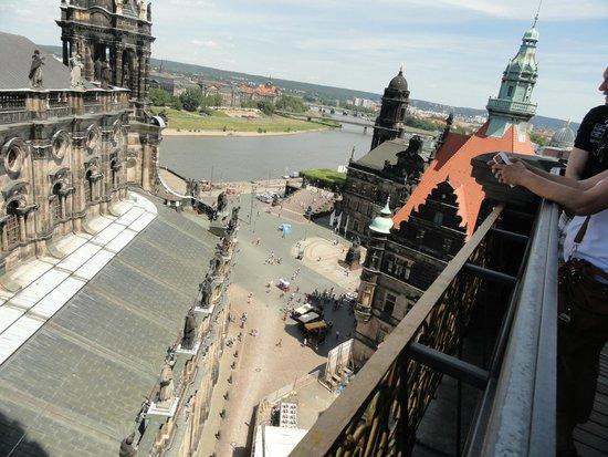 Grünes Gewölbe: Panoramica dal Castello