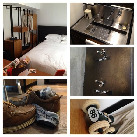 Residence G Hong Kong (by Hotel G) : The Good Room - Gotta love the hip industrial design!