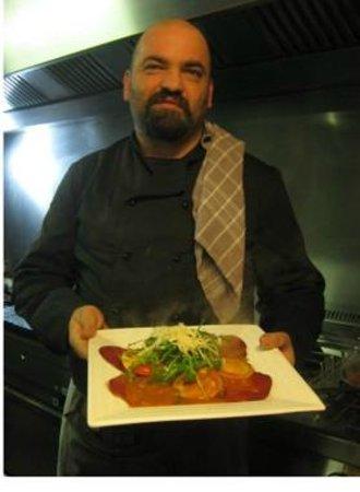 La Stanza : Massimiliano, a great chef.