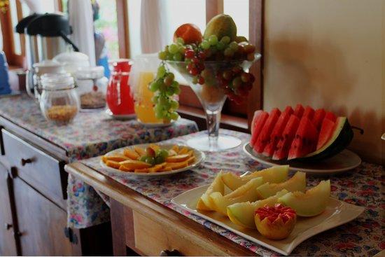 Ilhas de juquehy: café da manhã