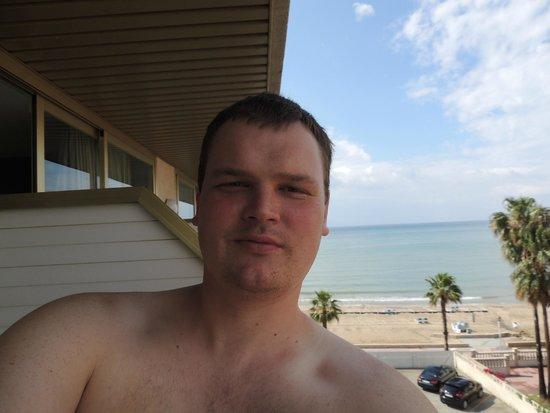 Hotel Best Maritim: Вид с балкона на море