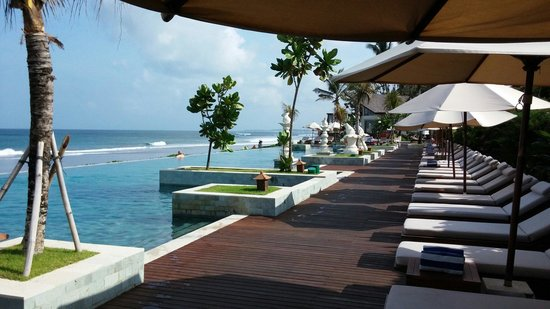 The Seminyak Beach Resort & Spa: Absolutely lovely