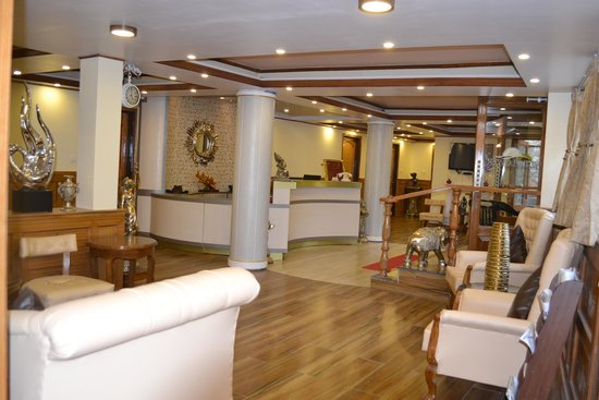 Hotel Sunflower: Newly Renovated Reception