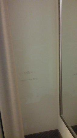 Holiday Inn Atlanta - Northlake: Stains on walls