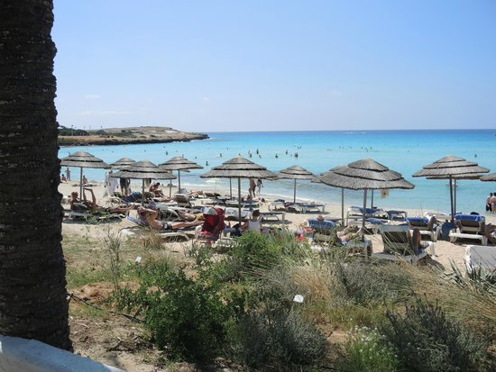 Aktea Beach Village: тот же пляж