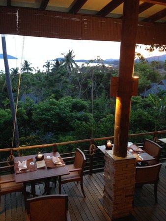 Kamalaya Koh Samui : Dinner area