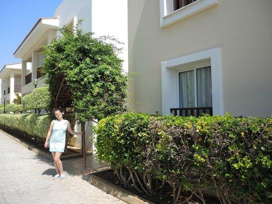 Aktea Beach Village: пример домиков отеля