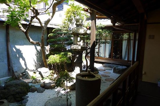 Guesthouse KYOTO COMPASS : 中庭