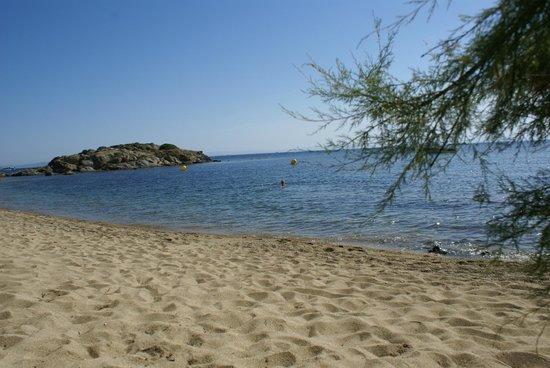 Vistabella: La petite plage au pied de l'hotel