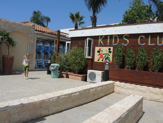 Aktea Beach Village: детский клуб - тихое педагогичное место