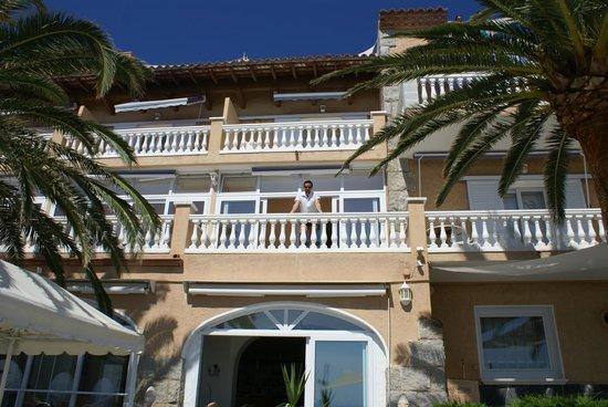 Vistabella: La chambre 115 vue de la terasse de l'hotel