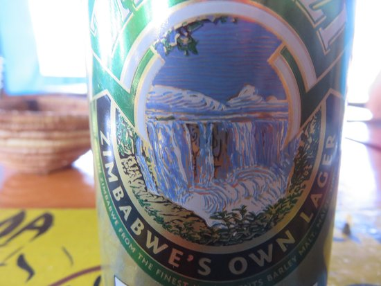 Mama Africa Eating House : Zambezi Beer Can