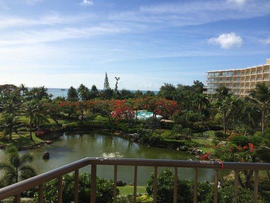 Hyatt Regency Saipan: 4階の部屋からの眺め