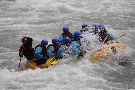 Chinook Rafting : Eeek!