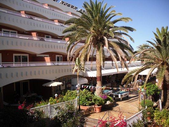 Sol Barbacan Hotel: vista dalla 265