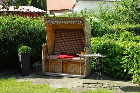 strandkorb garten foto di f ritz hotel schleswig tripadvisor. Black Bedroom Furniture Sets. Home Design Ideas