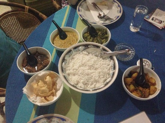 Leijay Resort: Best curry in Galle!