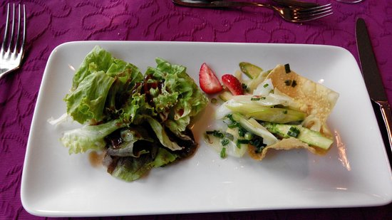 Restaurant Baren: Vorspeise Spargeln