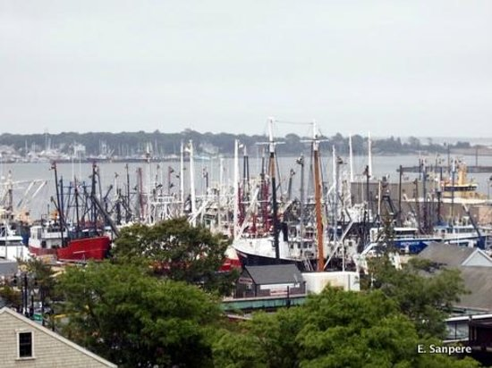 New Bedford Whaling Museum: Panoramic view of New Bedford