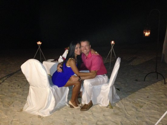 LUX* Belle Mare: Evening Dinner on the Beach!