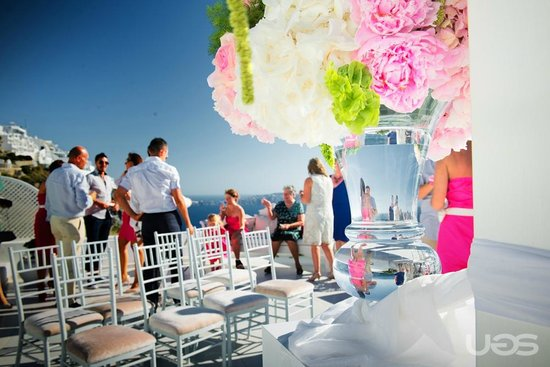 Dana Villas Hotel & Suites : A magic day - Wedding in Santorini
