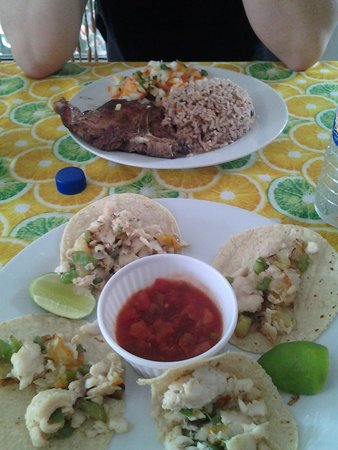 Waruguma: Carne Asada and Fish Tacos